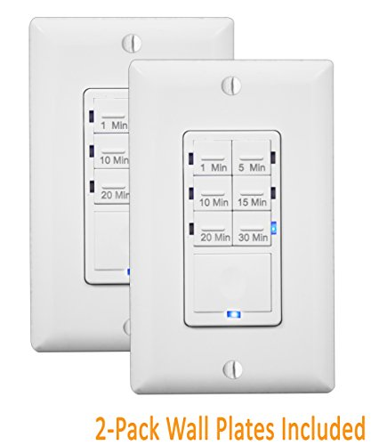 Timer Switch Bathroom Fan: In Wall Timer Switch Enerlites, Fan Switch Timer